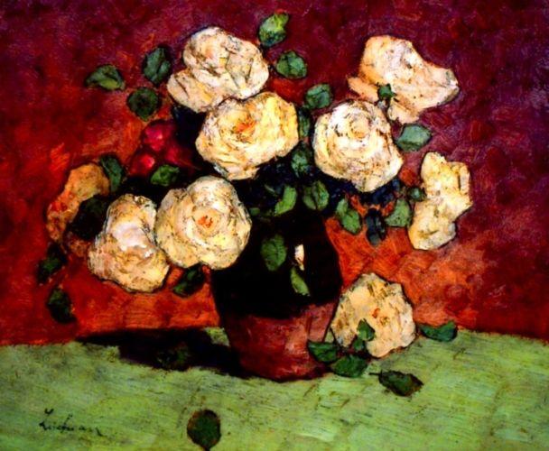 Ștefan Luchian, Trandafiri albi