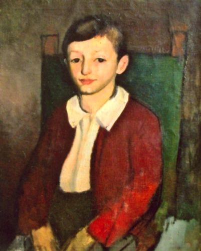 Corneliu Baba, Portret de copil
