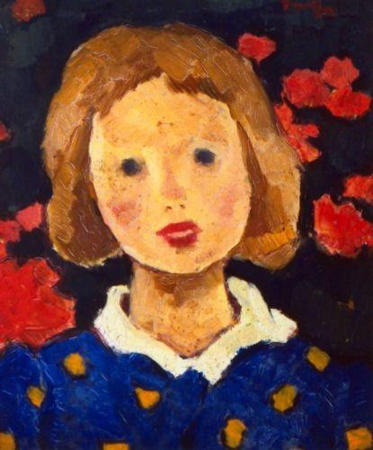 Nicolae Tonitza, Portret de fetiță